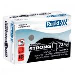 Скобы для степлера Rapid Super Strong 5M №73/6, стальные, 5000 шт