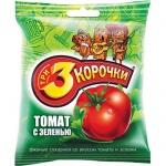 Сухарики 3 Корочки, 40г, томат с зеленью