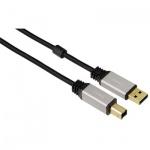Кабель USB 2.0 Buro (m-m) 1.8 м, прозрачный