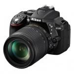"""Фотоаппарат Nikon D5300 24.1Mpix, 3"""", с объективом, черный"""