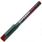 Маркер для пленок Schneider Maxx 220S красный, 0.4мм, острый наконечник
