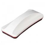 Губка для маркерной доски 2x3 Slim AS122 150x62мм, магнитный, белый