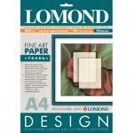 Фотобумага для струйных принтеров Lomond А4, 10 листов, 200г/м2, матовая, ткань, 919041