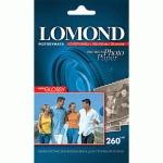 Фотобумага для струйных принтеров Lomond А6, 20 листов, 260 г/м2, суперглянцевая, 1103131
