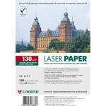 Фотобумага для лазерных принтеров Lomond А3, 250 листов, 130 г/м2, глянцевая, двусторонняя, 310131