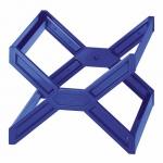 Контейнер для подвесных папок Durable голубой, А4, до 30 папок, 2611-06