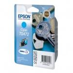 Картридж струйный Epson C13 T04724 A10, голубой