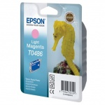 Картридж струйный Epson, светло-пурпурный
