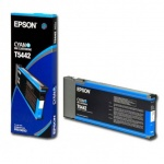 Картридж струйный Epson C13 T544200, голубой