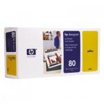 Печатающая головка Hp 80 C4823A, желтая