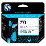 Печатающая головка Hp 771 CE019A, светло-пурпурная/светло-голубая