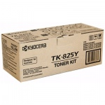 Тонер-картридж Kyocera Mita TK-825Y, желтый