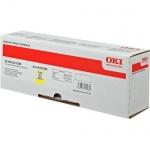 Картридж для факса лазерный Oki 44315305/4431532, желтый