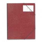 Пластиковая папка на резинке Durable красная, A4, до 150 листов, 2320-03
