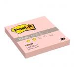 Блок для записей с клейким краем Post-It Basic, пастельный, 76x76мм, 100 листов