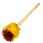 Ершик для унитаза с деревянной ручкой, 35см