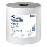 Протирочная бумага Tork универсальная W1/W2, 130039, в рулоне, 340м, 1 слой, белая