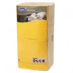 Салфетки Tork Advanced желтые, 33х33см, 3 слоя, 250шт, 18343