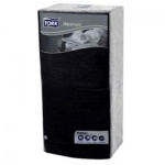 Салфетки сервировочные Tork Advanced черные, 33х33см, 3 слоя, 250шт, 18405