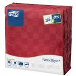 Салфетки Tork Premium красные, 39х38см, 2 слоя, 50шт, 478789