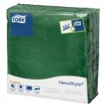 Салфетки сервировочные Tork Premium зеленые, 39х38см, 2 слоя, 50шт, 478792, зеленый