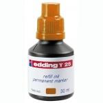 Чернила для маркеров перманентные Edding T25 оранжевый, 30мл