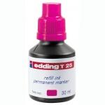 Чернила для маркеров перманентные Edding T25 розовый, 30мл