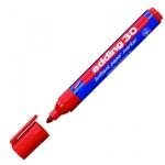 Маркер пигментный Edding 30, 1.5-3мм, круглый наконечник, красный