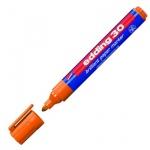 Маркер пигментный Edding 30, 1.5-3мм, круглый наконечник, оранжевый