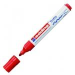 Маркер по ткани Edding 4500 красный, 2-3мм, круглый наконечник, декоративный