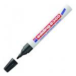 Маркер промышленный перманентный Edding 8300 черный, 1.5-3мм, пулевидный наконечник, для агрессивной