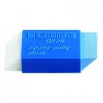 Ластик Edding DR20 бело-голубой, для карандаша и ручки
