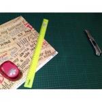 Коврик настольный для резки Maped 45х60см, зеленый, 174220