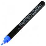 Маркер по ткани Marvy М522, 1мм, декоративный, для светлых тканей, синий