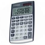 Калькулятор карманный Citizen CPC 210 серый, 10 разрядов