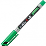 Маркер перманентный Stabilo Write-4-All, 0.4мм, круглый наконечник, зеленый