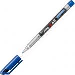 Маркер перманентный Stabilo Write-4-All синий, 0.7мм, круглый наконечник