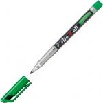 Маркер перманентный Stabilo Write-4-All, 1 мм, круглый наконечник, зеленый