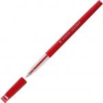 Ручка шариковая автоматическая Stabilo 828 красная, 0.3мм, красный корпус