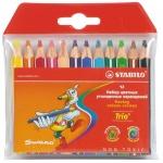 Набор цветных карандашей Stabilo Trio Jumbo