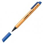 Линер Stabilo GreenPoint, 0.8мм, синий