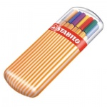 Ручка капиллярная Stabilo Point 88/55, 0.4мм, 20 цветов