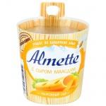 Сыр творожный Almette 60%, 150г, с сыром маасдам