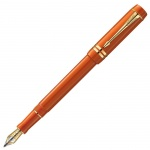 Ручка перьевая Parker Duofold F74 Centennial F, красный корпус