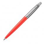 Ручка шариковая Parker Jotter Tactical K174 стержень M, синяя, оранжевый корпус