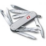 Нож Victorinox MiniChamp Alox 58мм, 14 функций, серебристый