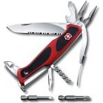 Нож перочинный 130мм Victorinox RangerGrip 174 0.9728.WC, 17 функций, 3 уровня, красно-черный