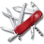 Нож перочинный 85мм Victorinox Evolution S17 2.3913.SE, 15 функций, 4 уровня, красный