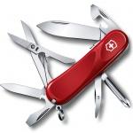 Нож перочинный 85мм Victorinox Evolution S16 2.4903.SE, 14 функций, 3 уровня, красный