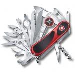 Нож перочинный 85мм Victorinox EvoGrip S54 2.5393.SC, 31 функция, 7 уровней, красно-черный